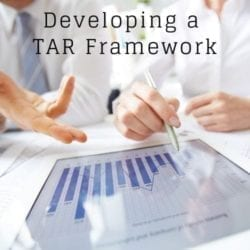 A Proposed TAR Framework- CLE Course