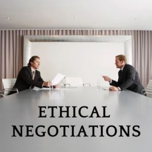 Ethical Negotiations